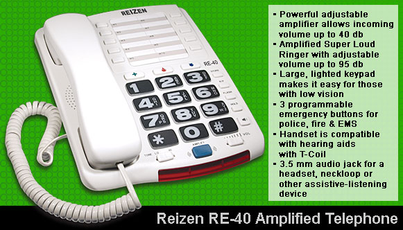 RE-40 Amplified Telephone