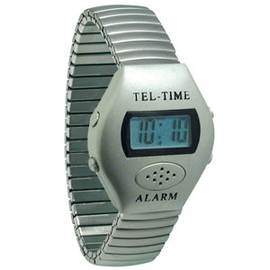 Metallic Talking Watch