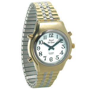 Mens Royal Tel-Time Talking Watch
