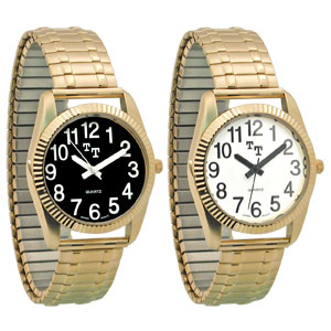 Men's Tel-Time Low Vision Watch