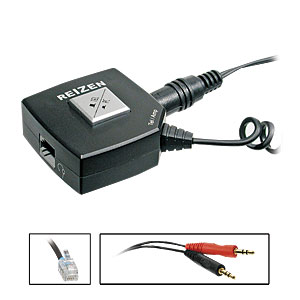 Reizen RE-PC21 Headset Switcher for PC/Telephone