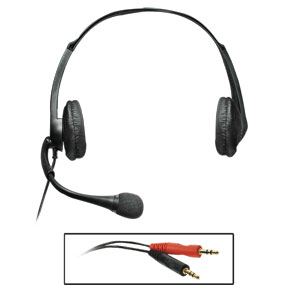Reizen RE-653DPC Binaural Headset for P.C.