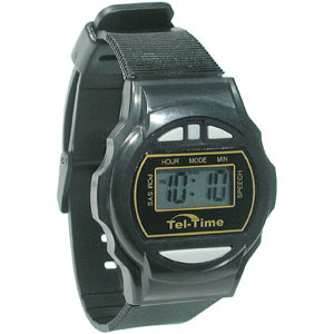 Round III Talking Wrist Watch